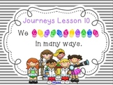 Lesson 10: Houghton Mifflin Journeys 3rd grade for SMART Board