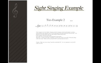 S-Cubed!  Lesson 10:  PULSING! Successful Sight Singing for Middle School