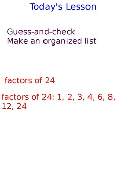 Lesson 107 Factoring And Greatest Common Factor