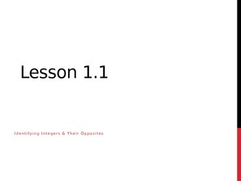 Lesson 1.1 Grade 6 Middle School GO MATH PowerPoint