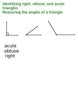Lesson 124 Types Of Triangles And Measuring Angles