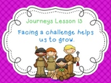 Lesson 13: Houghton Mifflin Journeys 3rd grade for SMART Board