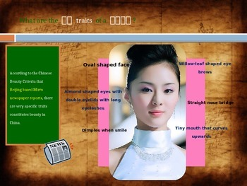 Chinese Lesson 14 Supplement: Physical Descriptions