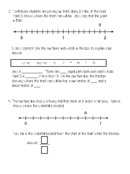 Lesson 15 Ready Math 3rd Grade Fractions