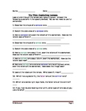 Lesson 16 Try This Lens Worksheet
