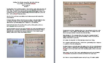 Lesson Plan 18 /Adapted Crafting True Stories Unit Gr. 3