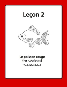 French Colors Song and Writing Activities