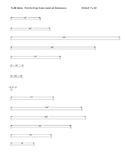 Lesson #2 STEM Answer Tri-Ruler TLAE ALPHA ENGR RULER