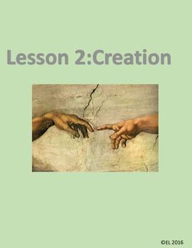 Lesson 2: Creation (K-2)