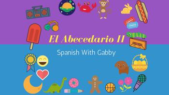 Lesson 2: El Abecedario II - The Alphabet II