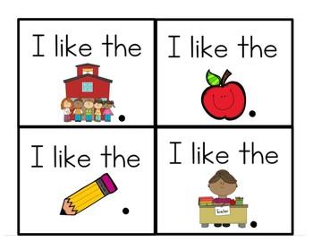 Lesson 2: Going to School    Fry Phrases      Journeys  Kindergarten