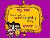 Lesson 2: Houghton Mifflin Journeys 3rd grade for SMART Board