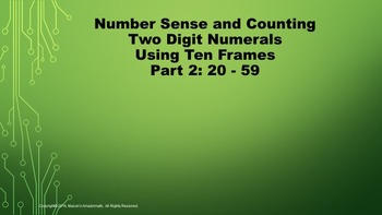 Lesson 2 Part 2: Number Sense and Counting Two Digit Numer