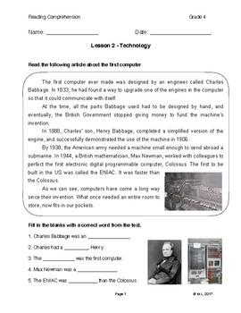 Lesson 2 - Technology