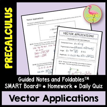 PreCalculus: Vector Applications