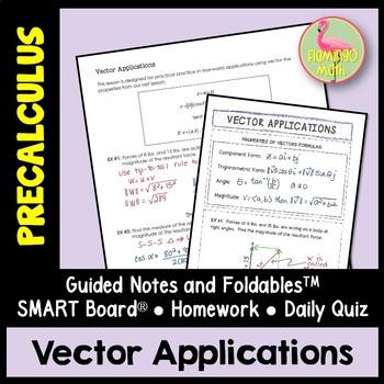PreCalculus: Vector Applications