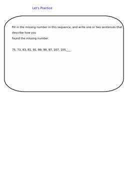 Lesson 20-2 Assessment