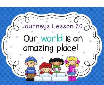 Lesson 20: Houghton Mifflin Journeys 3rd Grade for SMART Board