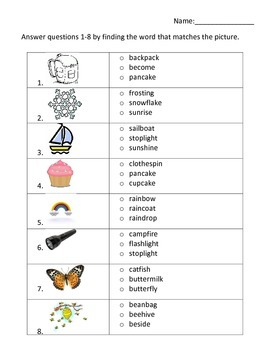 Lesson 20 Phonics and Words to Know Test