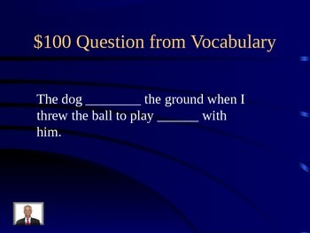 Lesson 21 Sarah, Plain and Tall Jeopardy Review