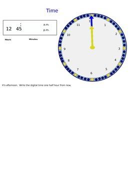 Lesson 24 Calendar Skills
