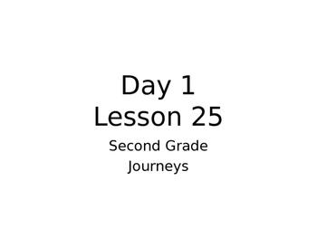 Lesson 25 Journeys 2nd Grade Week Powerpoint