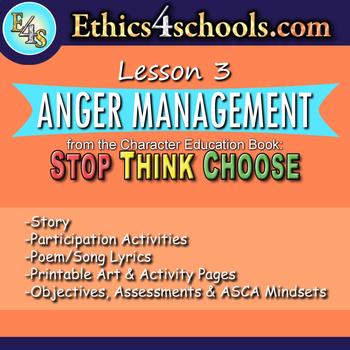 "Lesson 3: ""Anger Management"" module"