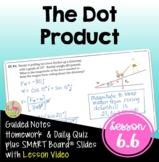Dot Product of Vectors (PreCalculus - Unit 6)