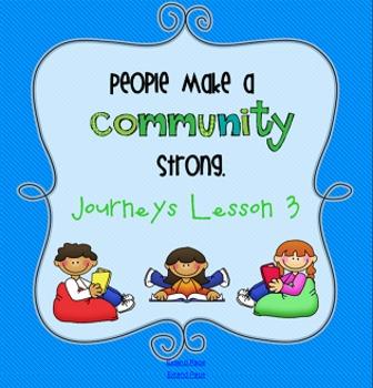 Lesson 3: Houghton Mifflin Journeys 3rd grade for SMART Board
