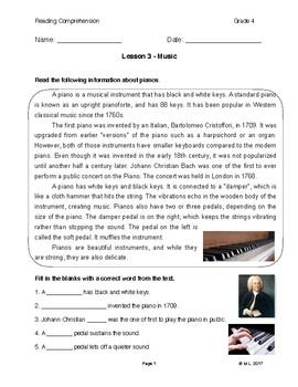 Lesson 3 - Music