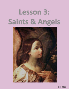 Lesson 3: Saints and Angels (K-2)