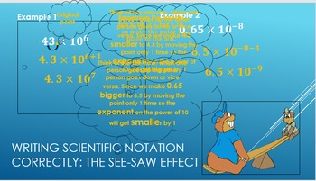 Lesson 3 Scientific Notation BUNDLE