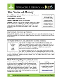 Lesson 3: The Value of Money