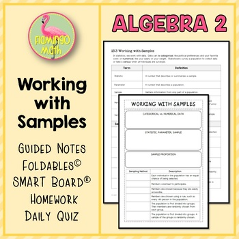 Algebra 2: Working With Samples