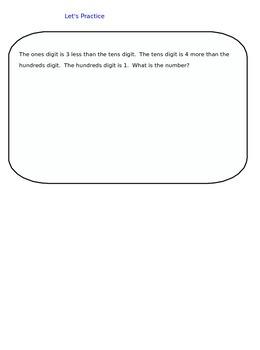 Lesson 35-2 Assessment