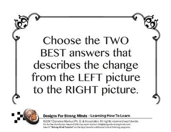 Comparisons Lesson Set 4