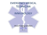 EMT/EMR IMMUNOLOGY (ALLERGIES) PPT TRAINING PRESENTATION
