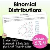 Algebra 2 Binomial Distributions