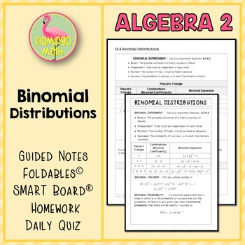 Algebra 2 Binomial Distributions