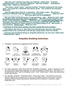"""Lesson 4: """"Empathy"""" Complete Bundle"""