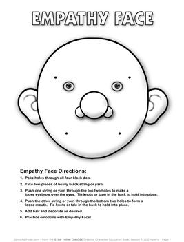 "Lesson 4: ""Empathy"" module"