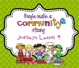 Lesson 4: Houghton Mifflin Journeys 3rd grade for SMART Board