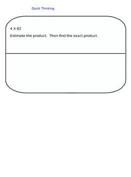 Lesson 40-2 Assessment