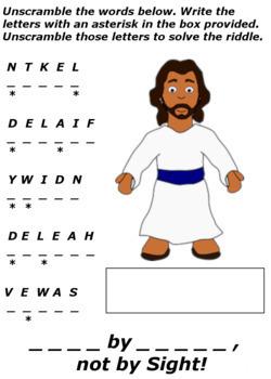 Children's Bible Curriculum - Lesson 41 – Jesus Calms the Storm