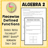 Algebra 2: Piecewise Functions