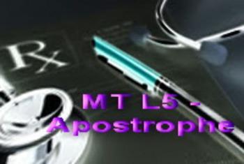 Lesson 5 - Apostrophe Rulz