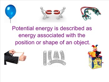 Lesson 5 - Discovering More About Potential Energy - Energetic Connections