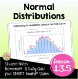 Normal Distributions (Algebra 2 - Unit 13)
