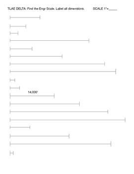 Lesson #5 STEM Engineering measure with Tri-Ruler TLAE DELTA ENGR RULER