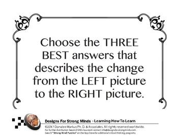 Comparisons Lesson Set 6